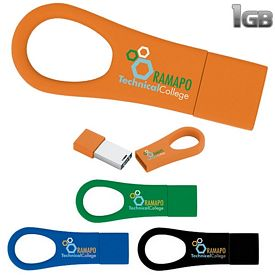 Promotional 1 GB Ring 2.0 USB 2.0 Flash Drive