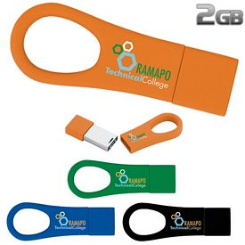 Promotional 2 GB Ring 2.0 USB 2.0 Flash Drive
