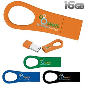 Promotional 16 GB Ring 2.0 USB 2.0 Flash Drive
