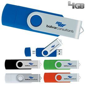 Promotional 4 GB On The Go USB 2.0 Flash Drive