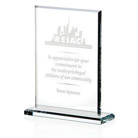 Promotional Jaffa Vertical Gem Cut Award Large