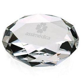 Promotional Jaffa Faceted Paperweight