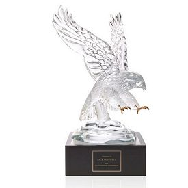 Promotional Jaffa Eagle Award with 4 Lighted Pedestal