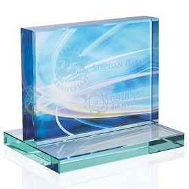 Promotional Jaffa Small Horizontal Jade Award