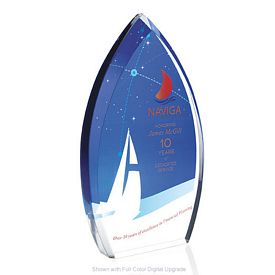 Promotional Jaffa Enterprise Teardrop Award