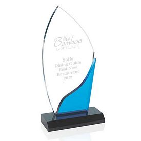 Promotional Jaffa Blue Accent Award