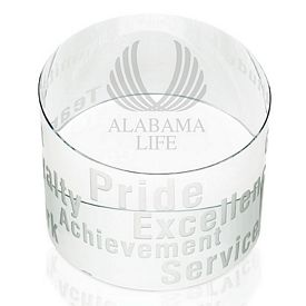 Promotional Jaffa Slanted Paperweight