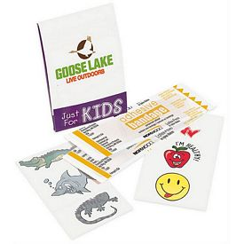 Promotional Kids Fun Pocket Pack