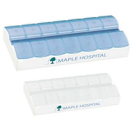 Promotional AM/PM Jumbo Easy Scoop Pill Box