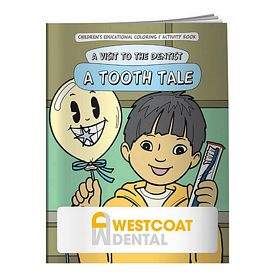 Promotional A Tooth Tale Coloring Book