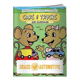 Promotional Cars & Trucks Coloring Book