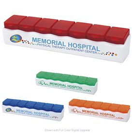 Promotional 7 Day Release Pill Box