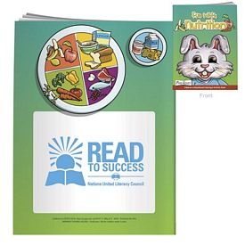 Promotional Coloring Book with Mask: Fun With Nutrition