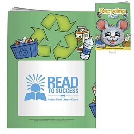 Promotional Coloring Book with Mask: Recycling Is Fun