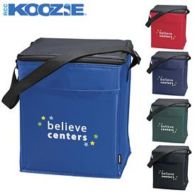 Promotional Koozie Scout 12-Pack Strap Kooler Bag