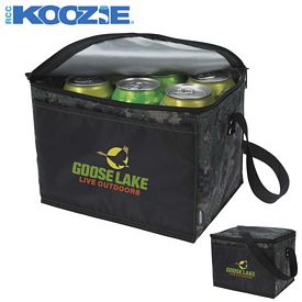 Promotional Koozie Six-Pack Kooler Camouflage