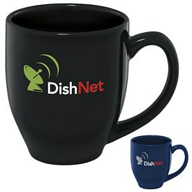 Promotional 15 oz. Shiny Bistro Color Mug
