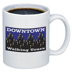 Promotional 11 oz. Budget White Ceramic Coffee Mug