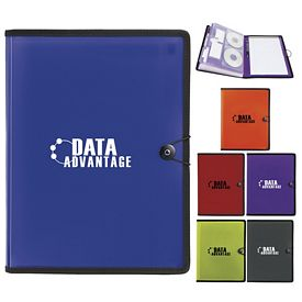 Promotional PolyPro Letter Size FileFolio