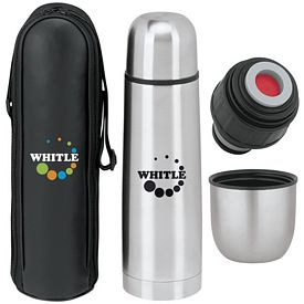 Promotional 17 oz. Thermo Thermos with Case