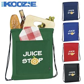 Promotional Koozie Drawstring Backpack Kooler