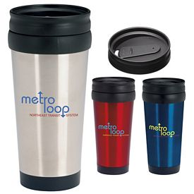 Promotional 16 oz. Stainless Deal Tumbler