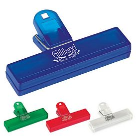 Promotional 4 Plastic Ready Bag Clip