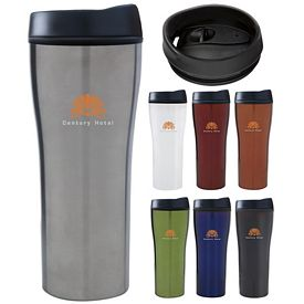 Promotional 18 oz. Stainless Metallic Tumbler