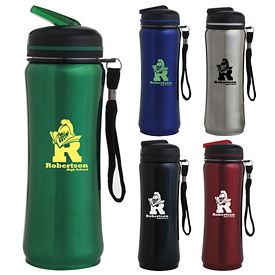 Promotional 26 oz. Contemporary Stainless Sport Bottle