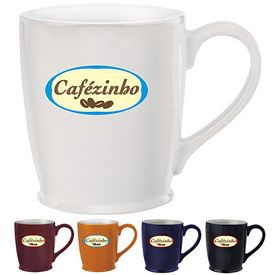 Promotional 16 oz. Stylish Cafe Mug