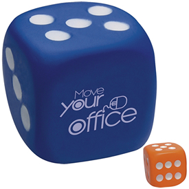 Promotional Anti Stress Dice