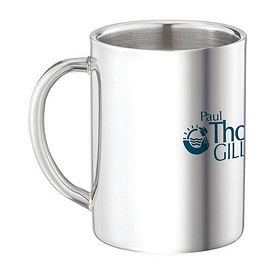 Promotional 9 oz. Double Wall Stainless Steel Coffee Mug