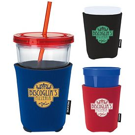 Promotional Lifes a Party Koozie Cup Kooler