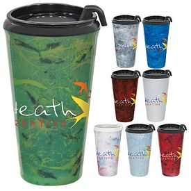 Promotional 16 oz. Marble Infinity Tumbler