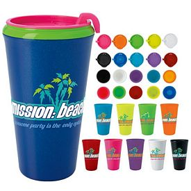 Promotional 18 oz. Multi-Color Infinity Tumbler