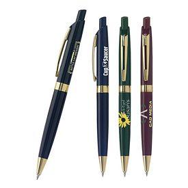 Promotional Rival Gold Trim Pen