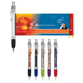 Promotional Translucent Banner Pen