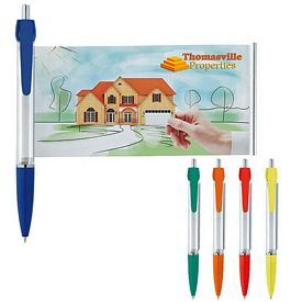 Promotional Solid Colored Banner Pen