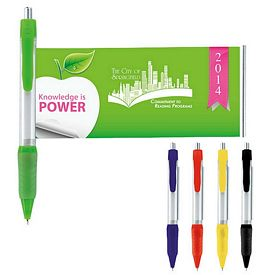 Promotional Grip Banner Pen