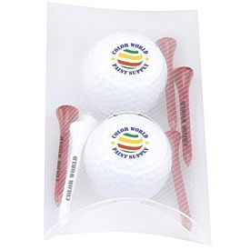 Promotional 2 Ball Pillow Pack Titleist DT SoLo