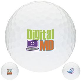 Promotional White Golf Ball
