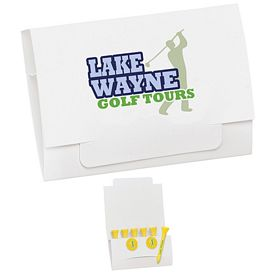 Promotional 6-2 Golf Tee Packet 2-3/4 Tee