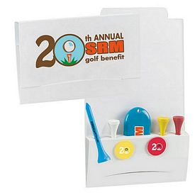 Promotional 4-2-1 Golf Tee Packet 2-1/8 Tee