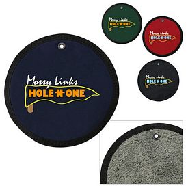 Promotional Golf Round Towel