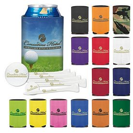 Promotional Collapsible Koozie Deluxe Titleist Golf Event Kit