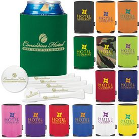 Promotional Collapsible Koozie Dlx Golf Ultra 500 Event Kit