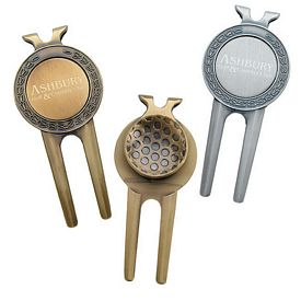 Promotional Honor Magnetic Divot Repair Tool Ball Marker