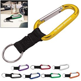 Promotional Anodized Carabiner 8mm