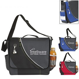 Promotional Atchison Slalom Messenger Bag