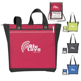 Promotional Atchison Double or Nothing Tote Bag - CLOSEOUT ITEM